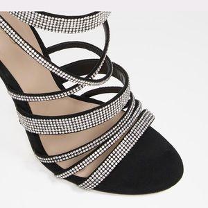 Haondra open toe heels Aldo 👠 ( only worn once )